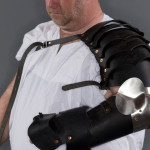 Leather Basic Arm w 1/2 gauntlet