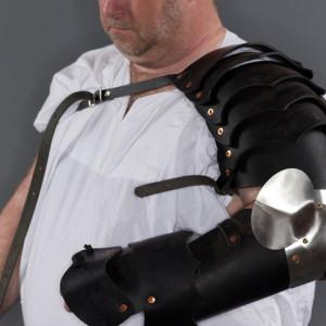 Leather Basic Arm w 1/2 gauntlet