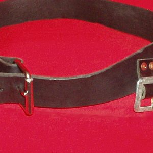Belt Arming full closeup